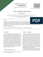 Polymer modified asphalt binders