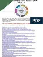 Originais Aprendizes Dos Mestres Oadm – Edição 01