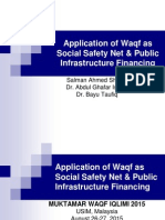 Waqf as Social Safety Net