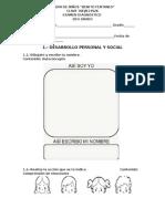 Examen Diagnostico 2do Grado Completo