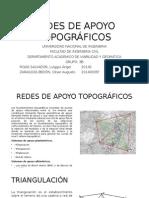 Redes de Apoyo Topográficos