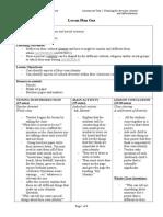 planningfordiversityidentity differentiation lesson plans