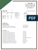 Stellar Mi Legacy Pricelist 01 Sep 15