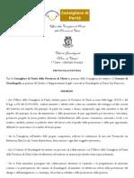 Protocollo d'intesa con l'Ufficio Consigliera di Parità