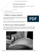 The Science of Rap Rhyme Schemes _ Rappingmanual