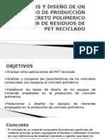 Presentación - Concreto Polimérico