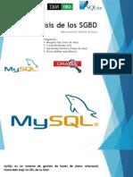 Análisis de Los SGBD
