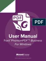 FoxitPhantomPDFBusiness70 Manual
