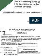 Pesce Las Múltiples Epistemologías en Las Prácticas de Las Ciencias Sociales