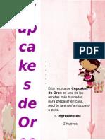 Receta para preparar Cupcakes de  Oreo