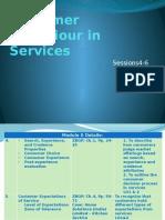 Customer Behaviour in Services