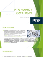 Capital Humano y Competencias