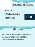 Atoms and Nuclear Chemistry Pwt