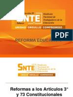 Reforma Educativa Final (Resumen, Diapositivas