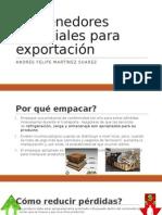 Contenedores Especiales Para Exportación
