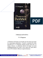 O Retorno de Inanna - Os Deuses Ancestrais e a Evolução doPlaneta Terra - V. S. Ferguson