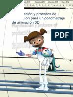 Ejemplo realización de proyecto de animación