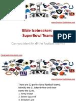 Bible icebreakers
