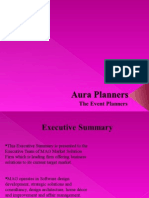 Executive Summary For a Business Plan