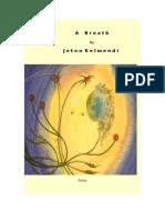 A Breath by Jeton Kelmendi With Firs Page