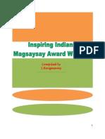 Inspiring Indians Magsaysay Award Winners