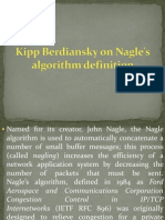 Kipp Berdiansky on Nagle's Algorithm Definition