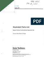 Solar Turbine Model Saturn 20