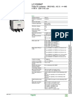 Schneider Electric LC1D95M7 Datasheet
