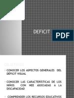 Defict Visual