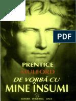 De Vorba Cu Mine Insumi Prentice Mulford