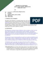Wastewater Management Plan
