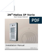 2n Helios Ip Vario - Installation Manual