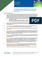 Install 02 General Optical Fiber Installation Considerations