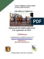 Milla Melgar 2015