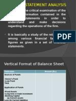 Financial Statement Analysis 1