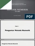 Perbedaan Metode Analitik Dengan Metode Numerik