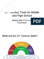 21 Century Tools for Middle and High