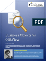 Business Objects vs Qlick View