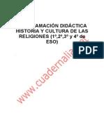 Historia Religiones