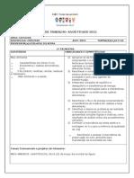 Plano de Trabalho - 2015 6º Anos