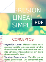 Regresión Lineal Simple (2)