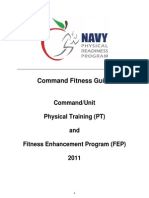 Navy Command PT and FEP Guide 2011