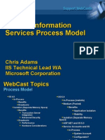 Internet Information Services Process Model