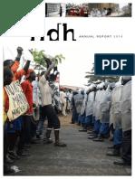 FIDH Annual Report 2014
