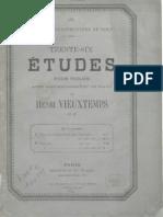 Etudes Piano Part