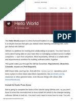 GitHub Guides
