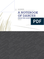 Notebook of Dances from Alentejo