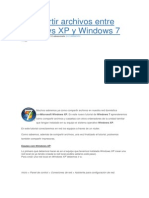 Compartir Archivos Entre Windows XP y Windows 7