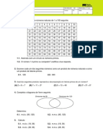 7ºAno - Matemática - Teste Diagnóstico
