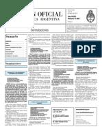 Boletin Oficial 08-03-10 - Tercera Seccion